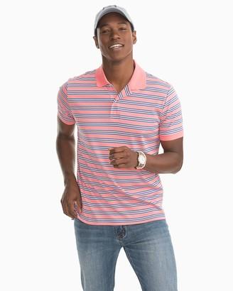 Southern Tide Beach Way Striped Polo Shirt