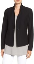 Eileen Fisher Women's Washable Stretch Crepe Jacket