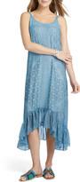 Nic+Zoe Petite Santorini Tiles Sleeveless High-Low Maxi Dress