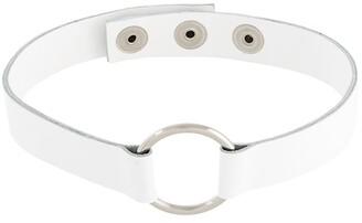 Manokhi circle stud collar