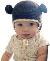 Melondipity Baby Hats Melondipity Organic Crochet Baby Bear Hat