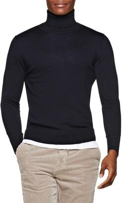 Suitsupply Merino Wool Turtleneck Sweater