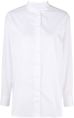 Closed Stand-Up Collar Shirt