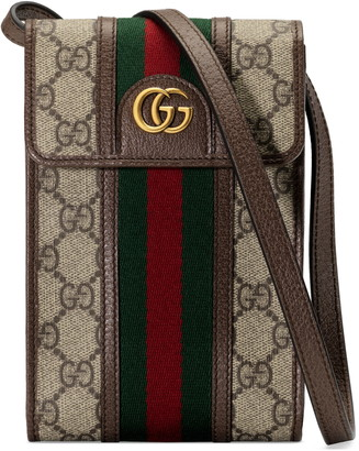 Gucci Mini Ophidia GG Supreme Canvas Messenger Bag