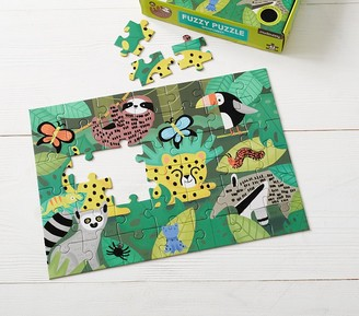 Pottery Barn Kids Fuzzy Puzzle Rainforest
