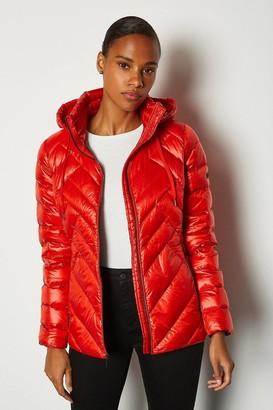 Karen Millen Short Packable Puffer Jacket