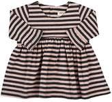 Amelia Striped Stretch-Cotton Dress