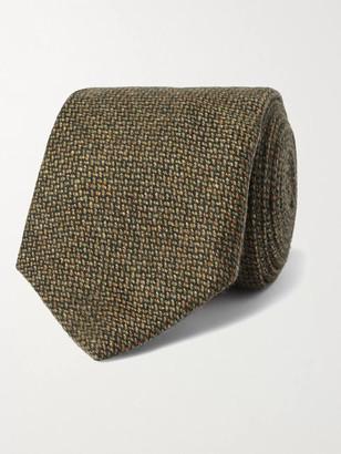 8cm Cashmere-Tweed Tie