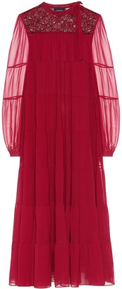 Giambattista Valli Silk maxi dress