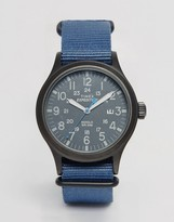 Timex Expeditionscout Watch In Blue Tw4b04800
