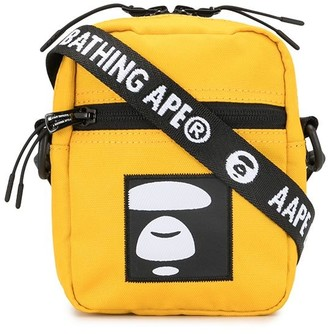 AAPE BY *A BATHING APE® Embroidered Patch Messenger Bag