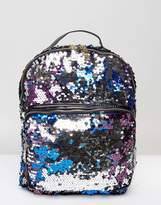 7X Sequin Two Tone Backpack