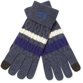 Fred Perry Men's Cable Tipped Wool Gloves