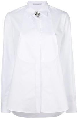 Ermanno Scervino Concealed Jewelled Shirt