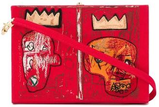 Olympia Le-Tan Basquiat box shoulder bag