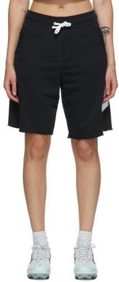 Nike Black French Terry Alumni Shorts