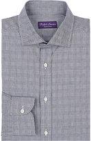 """Ralph Lauren Purple Label Men's """"Bond"""" Glen Plaid Cotton Shirt"""