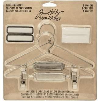 "575 Denim Advantus Idea-Ology Display Hangers, x 3"", 2pk, Nickel"
