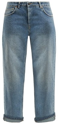 Raey Dad Baggy Boyfriend Jeans - Womens - Light Blue