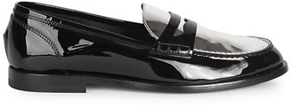 Balmain Kriss Patent Leather Loafers