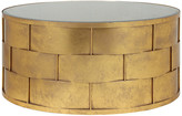Pangea Home Margot Coffee Table, Gold Leaf