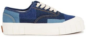 Good News Slider denim flatform sneakers