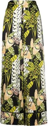 Temperley London Elpis harmony print pyjama trousers