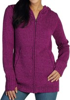 Exofficio Cafenista Marled Hoodie Sweater - Zip Front (For Women)