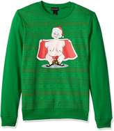 Alex Stevens Men's Jingle Balls Mrs. Klaus Ugly Christmas Sweater