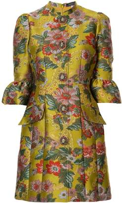 Andrew Gn brocade fitted dress