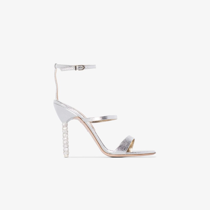 Silver Ball Shoes | Shop the world's