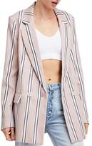 Free People Uptown Girl Blazer