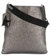 Golden Goose Deluxe Brand Women's Silver Leather Shoulder Bag.