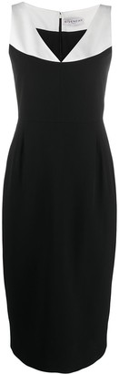 Givenchy V-neck fitted dress