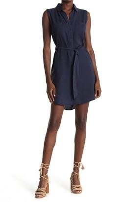 Velvet Heart Rosa Sleeveless Button Down Shirt Dress