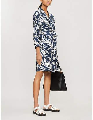 Max Mara S Filtro floral-print straight silk mini dress