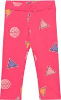 Little Marc Jacobs Pink Branded Badge Leggings