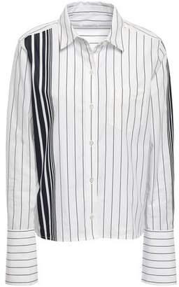 Equipment Striped Cotton-poplin Shirt