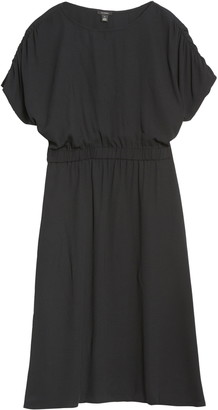 Halogen Ruched Sleeve Dress