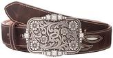 Ariat Cream Underlay Design Belt Women's Belts