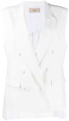 Maison Flaneur Double Breasted Waistcoat