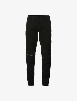 No.91 biker skinny jeans