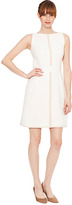 Raoul Natasha Waisted Dress in Ivory