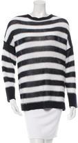 Derek Lam 10 Crosby Linen Striped Sweater