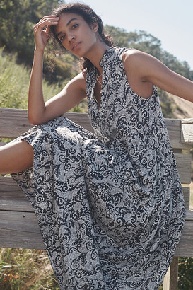 Maeve Marya Tiered Maxi Dress By in Black Size XS