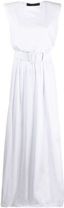 FEDERICA TOSI Long Belted Tank Dress