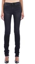 R 13 Black Denim Skinny Jeans
