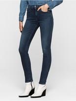 Calvin Klein Medium Wash High Rise Skinny Jeans