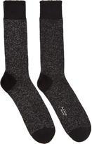 Paul Smith Black Lurex Socks