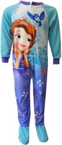 Princess Sophia Disney Sofia The First Daydreaming Toddler One Piece Footie Pajama for girls